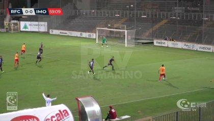 Il Ravenna fa suo il derby con l'Imolese