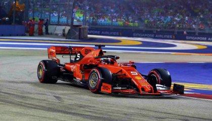 A Singapore è doppietta Ferrari