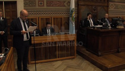 I giovani degli European Démocrat Students ricevuti in udienza dai Capitani Reggenti