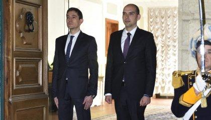 Consiglio Grande e Generale: il saluto di fine mandato dei Capitani Reggenti Nicola Selva e Michele Muratori