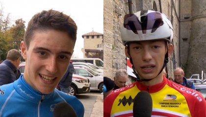 """Crescioli: """"questa salita mi piace molto, San Marino mi esalta"""". Biagini: """"il migliore si è visto, ma sono contento della mia gara"""""""