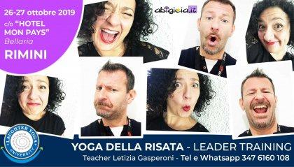 Lo yoga della risata a Rimini il 26 e 27 ottobre
