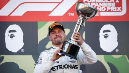F1: Bottas trionfa in Giappone