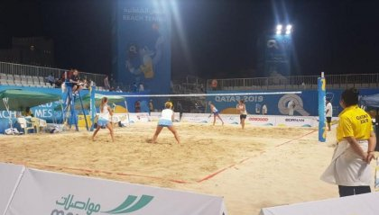 World Beach Games: Grandi e Colonna cedono alle italiane