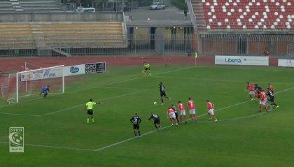 Serie C: Sambenedettese al secondo posto. Il Vicenza perde una grande occasione facendosi rimontare dal Piacenza