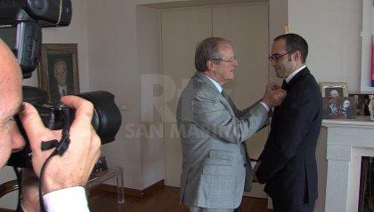 San Marino-Italia: Segretario Renzi insignito dell'onorificenza dell'Ordine della Stella