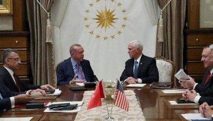 Accordo Usa-Turchia, tregua di 5 giorni, ma scontri al confine