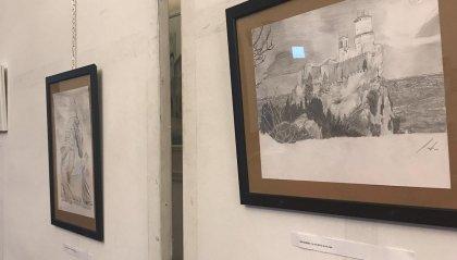 Mostra delle opere di Pietro Gasperoni a Serravalle