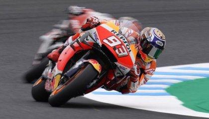 GP Giappone: Marquez conquista la pole
