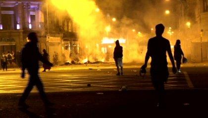 Catalogna: 182 feriti e 54 arresti