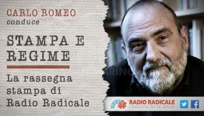 """Romeo torna a condurre """"Stampa e Regime"""""""