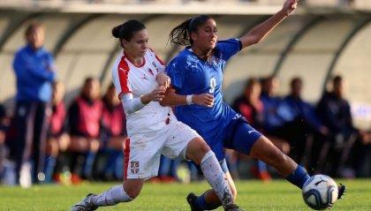 Chiara Beccari ancora in gol con l'Italia U17