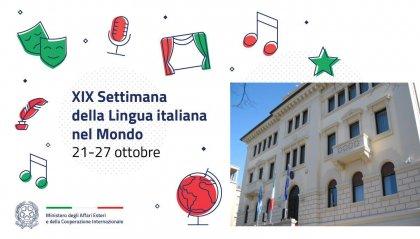 XIX Settimana della lingua italiana: all'Ambasciata d'Italia Leonardo e Leopardi