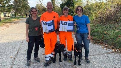 L'Associazione sammarinese Pompieri Senza Frontiere in Croazia per l'addestramento dei cani da soccorso