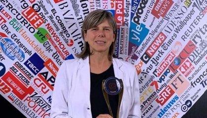 """Il premio """"Invictus"""" della Stampa Estera all'Italia di Milena Bertolini"""