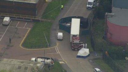 Scoperti 39 corpi in un camion proveniente dalla Bulgaria