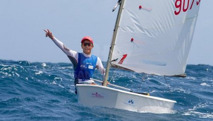"Vela: Marco Gradoni vince il ""World Sailor of the year"" a soli 15 anni"