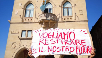 """Fridays For Future San Marino scrive alla politica: """"Non ci dimenticheremo delle promesse"""""""