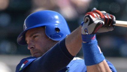 Mike Piazza CT dell'Italia
