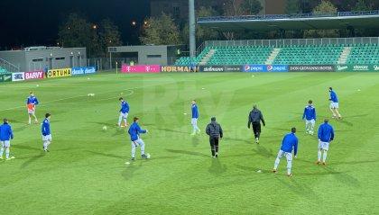 Repubblica Ceca - San Marino: al termine del primo tempo 3 - 0