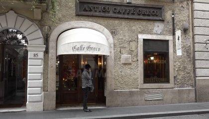 Lo storico Caffè Greco di Roma rischia sfratto e chiusura: interviene la Corte d'Appello