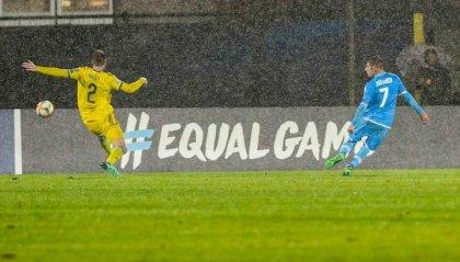 San Marino torna al gol 803 giorni dopo: a segno Berardi nel ko con il Kazakistan