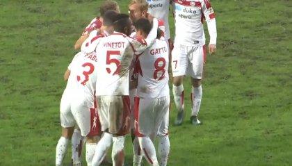 Vola il Sudtirol che rifila un netto 3 a 0 alla  Sambenedettese