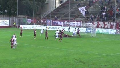 Fano - Piacenza 2-4