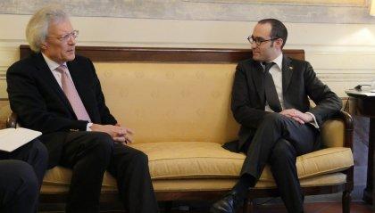 Visita sul Titano dell'Ambasciatore della Federazione Russa, Sergey Razov