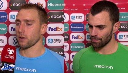 """Giardi: """"Sono stato preso in considerazione cosa non avvenuta prima"""". Simoncini: """"Vestire questa maglia è sempre un orgoglio"""""""