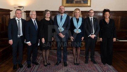Lettere credenziali: 8 nuovi ambasciatori in Repubblica