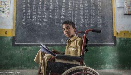 Un bambino su 4 in guerra o calamità: Unicef lancia appello record