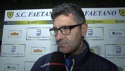 Primo allenamento per l'ex tecnico del Rimini Renato Cioffi con il Faetano, sua nuova squadra