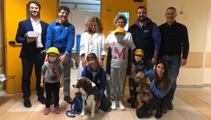 Tumori: a Rimini il casco di realtà virtuale che riduce ansia e stress per i piccoli pazienti