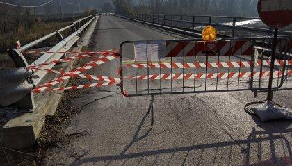Chiuso il ponte di Marazzano: collega Gemmano, Montecolombo e Montescudo