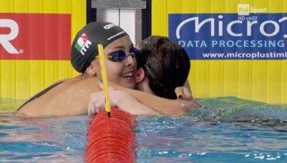 Europei nuoto: doppietta Carraro-Castiglioni nei 100 rana, Pellegrini d'argento nei 200