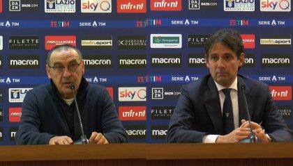 """Sarri:"""" condannati da episodi sfavorevoli"""". Inzaghi:"""" dobbiamo mantenere equilibrio e goderci queste serate"""""""