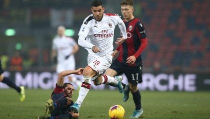 Serie A: il Milan vince 3-2 a Bologna. Mihajlovic in panchina dopo il trapianto