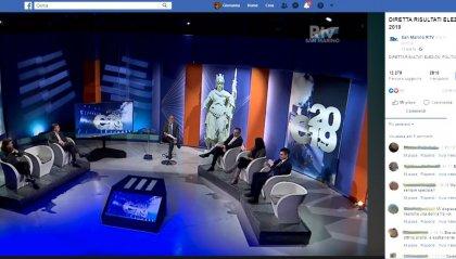 Migliaia le visualizzazioni della diretta sullo spoglio dei voti sui social Rtv