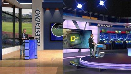 Serata di calcio con Telestadio e CPiace alternati alle elezioni