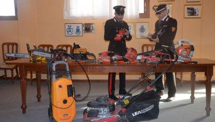 Carabinieri di Novafeltria: trovato con la refurtiva, denunciato ricettatore