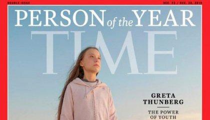 Greta Thunberg 'Persona dell'anno' per Time