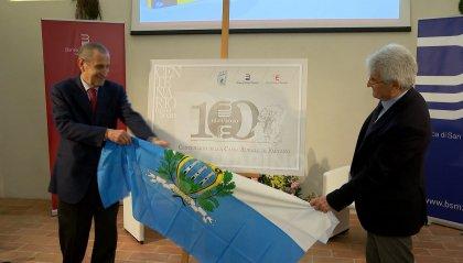 Centenario Cassa Rurale di Faetano: presentato il logo che accompagnerà BSM ed Ente Cassa di Faetano fino a fine 2020