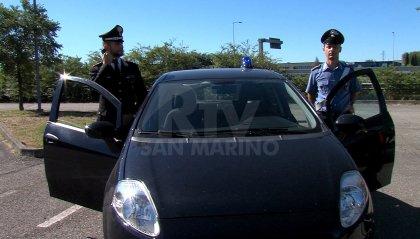 Riccione: tre minorenni del posto fermati su un'auto rubata
