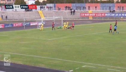 La Fermana passa a Gubbio con il gol di Petrucci