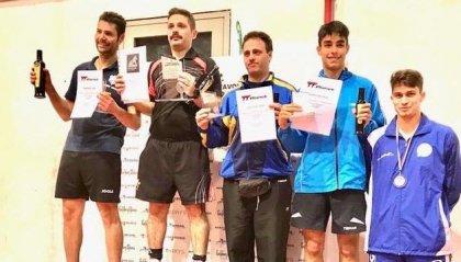 I pongisti sammarinesi al  Torneo Open assoluto di Prato
