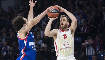 L'Efes spazza via Milano ed è sola in vetta all'Eurolega
