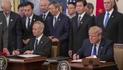 Dazi: firmato accordo commerciale Usa-Cina