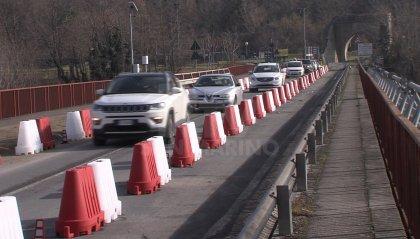 Ponte Verucchio: riaperto il transito al traffico leggero