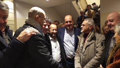 Gli esponenti di Libera incontrano Nicola Zingaretti